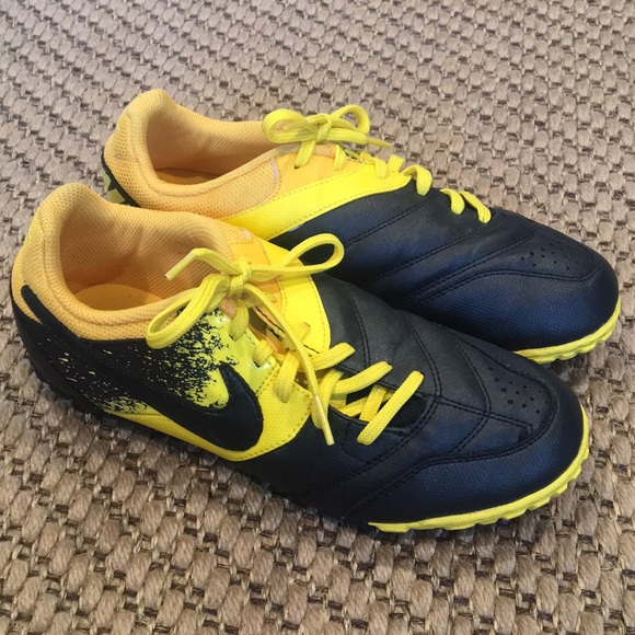 Nike Other - Nike boys cleats, bumblebee yellow and black